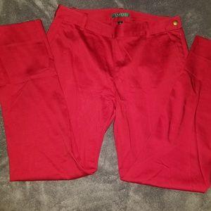 Ralph Lauren Pants - Ralph Lauren red pants